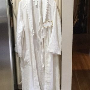 Set of robe and matching towel